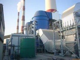 燃煤锅炉烟气脱 除尘设备工作原理