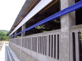 东莞猪场卷帘生产厂-防水帆布-防水篷布供