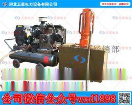 湖南防汛打樁機--打樁機廠家批發--防汛植樁機型號規格