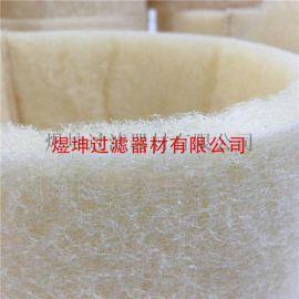 合成纤维油雾集尘机用高温棉特殊定制圆形过滤棉