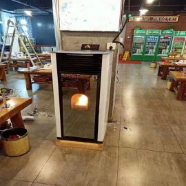 100平米供暖用颗粒炉 生物质颗粒炉厂家 恒美百特