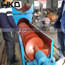 湖南螺旋洗沙机 螺旋分级机厂家 洗沙机规格