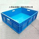 塑料物流箱,塑料週轉箱,塑料藍色週轉箱,
