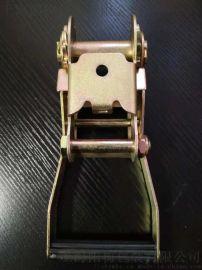塑柄彩锌紧绳器捆绑带货车拉紧器拉紧器2寸 50MM