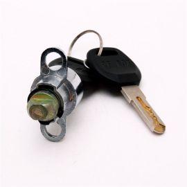 锌合金材质锁芯 铜压尼龙钥匙行李架锁芯 厂家设计定制款