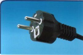 三蕊AC插头线、电源插头线德国VDE认证(Y003-B)