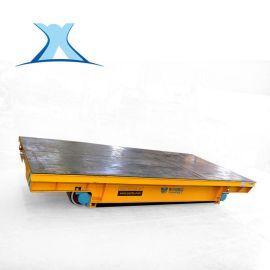 电动轨道液压搬运车蓄电池电动平板车电瓶平板搬运车20吨
