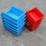 厂家直销 100挂斗 100*150*80 斜口背挂式零件箱  塑料周转箱