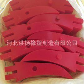 聚氨酯清扫器刮刀 聚氨酯刮板 输送带用刮刀