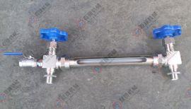 厂家直销带排污球阀外丝液位计阀 不锈钢快装液位计考克 外丝考克