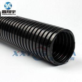ROHS机床电线护套/穿线塑料波纹管/PA尼龙塑料波纹管AD25mm/100米