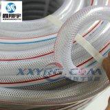 PVC透明纖維網紋增強軟管, 耐高壓曝氣軟管, 花園澆水管