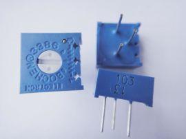 BOURNS3296电位器 顶调(3296X)