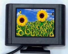 供应加尼鹰2.5寸液晶显示器 液晶监视器 迷你显示器 车载显示器 1路莲花头视频接口 标准DC电源     屏 全新 台式挂墙安装