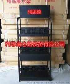 火花塞展示架金属工具货架黑色油品架子食品置物架