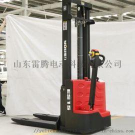 上海叉车厂家 步行前移式堆高车 全电动堆垛车