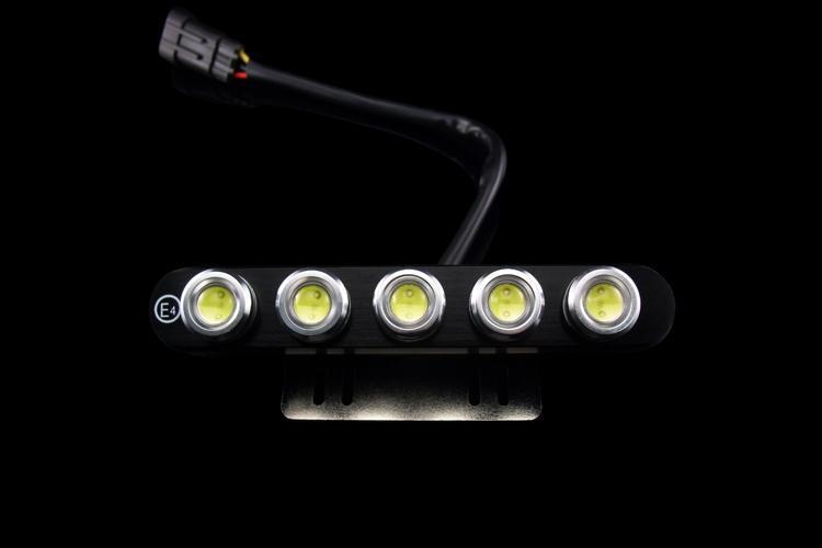 LED日/昼行灯DRL01 正远汽车灯100%防水 大功率前照灯倒车灯10x1W