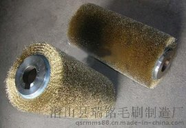 厂家批发毛刷 毛刷辊 机械毛刷辊 钢丝刷辊 条刷 除尘条刷