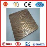不锈钢青古铜蚀刻板 不锈钢彩色蚀刻板