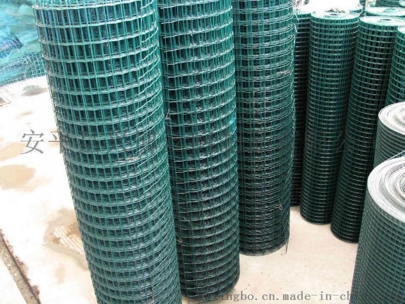 围山养殖种植用绿色铁丝网围栏
