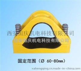 恒庆复合材料电缆夹具FJGP-2非磁性电缆固定夹
