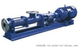 皖威尔顿G型单螺杆泵