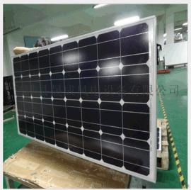 厂家直销 全新A类单晶硅太阳能电池板