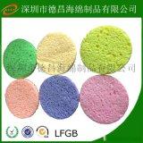 深圳海綿廠家 供應 清潔木漿棉、壓縮木漿棉、烙鐵清潔海綿、彩色木漿棉
