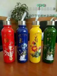 徐州玻璃杯厂家 供应喷涂玻璃烤花水杯