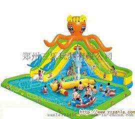 大型水上遊樂園  四川自貢市大型充氣水池價格