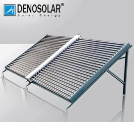 德诺太阳能集热模块 别墅洋房太阳能热水工程   酒店热水工程联排