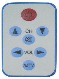 7键  卡片式电视多功能遥控器,配套与出口
