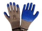 10針乳膠線皺勞保手套工地用HSL01