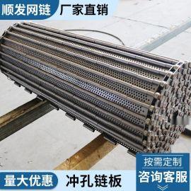 【  供应】清洗机链板 不锈钢输送链板 冲孔链板 规格按需定做