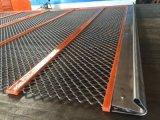 模块化自清洁网 菱形网振动筛 聚氨酯高效自清洁筛版 矿上专用