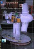 浏阳河电力模型风力发电机模型