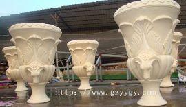 人造石雕塑 砂岩艺术雕塑花盆 砂岩花盆雕塑厂家