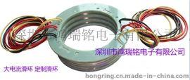 HRT series 过孔式导电滑环,孔径可按客户要求定做