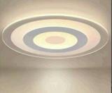 LED超薄现代简约创意餐厅温馨圆形主卧室灯