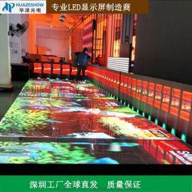 P6.25LED智能互动地砖屏地板屏互动感应踩踏屏