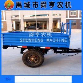 厂家定做农用拖斗 自卸气刹牵引拖车
