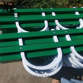 锌钢绿化护栏,锌钢护栏草坪围栏,钢制花草栅栏