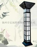 扬州弘旭销售3米室外园林景观灯柱方灯户外欧式别墅防水庭院灯公园草坪灯