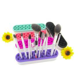 日韩创意化妆工具收纳盒 化妆刷眉笔 展示架 彩妆盒子