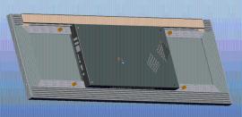 29寸网络版条形液晶广告机
