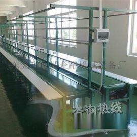 东莞全新单向皮带线工作台装配线组装线防静电流水线电子厂流水线输送机流水线