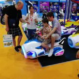 新款兒童廣場遊戲機小飛俠超級飛俠遊戲機防撞快樂飛俠