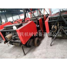 浩民机械牧草打捆机自动捡拾机玉米秸秆打捆机