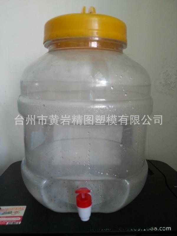 新型药酒塑料桶 泡酒桶 水龙头瓶 塑料罐