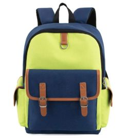 工厂定制小学生 中学生书包 双肩背包 书包厂家定做 来图打样